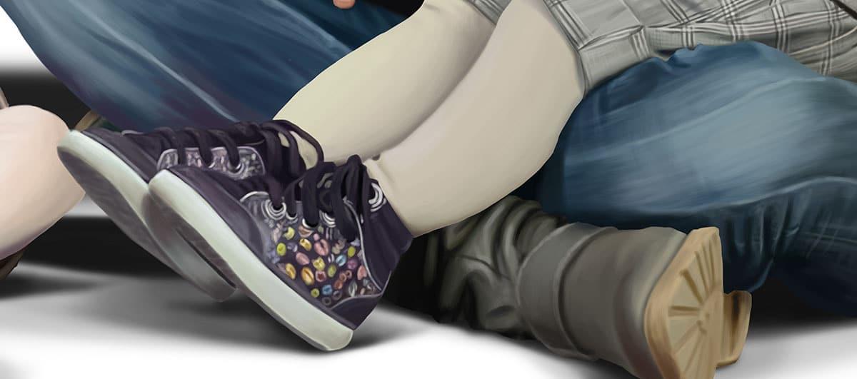 Feet Detail