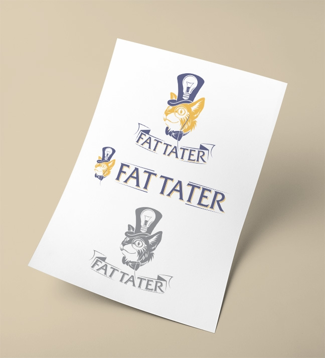 Fat Tatter Logo Design