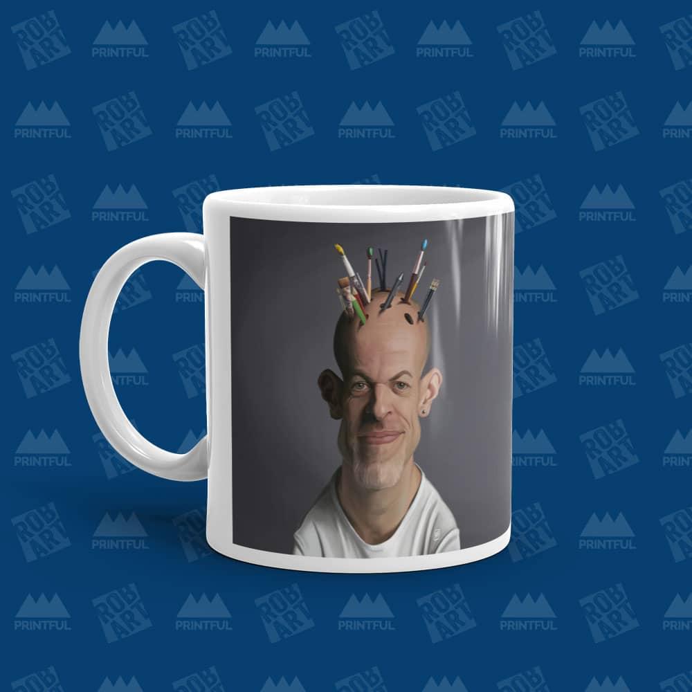 Mug (front and back)