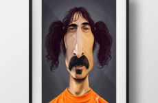 Frank Zappa – Caricature insight!