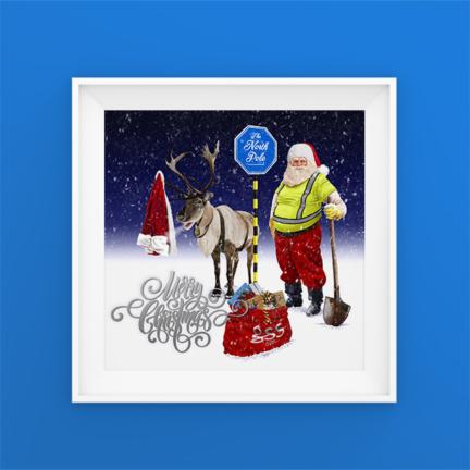 GSS Christmas Card Illustration