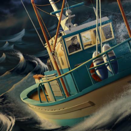 Nissos Seven Beaufort Illustration