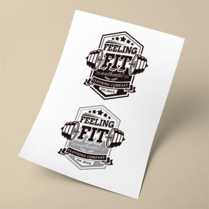 Feeling Fit Logo Design