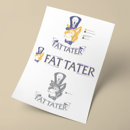 Fat Tatter Logo Design