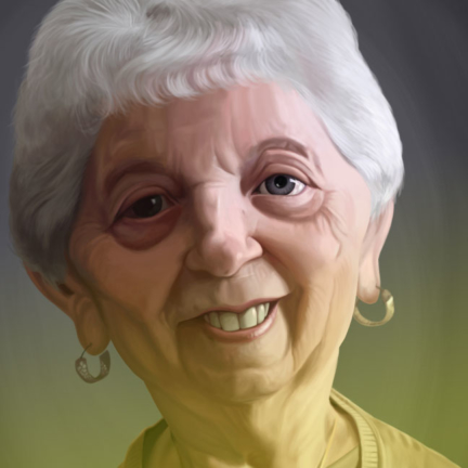 Mother Caricature Portrait