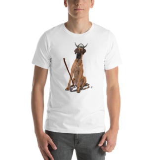 Great (Animal Illustration) Short-Sleeve Unisex T-Shirt