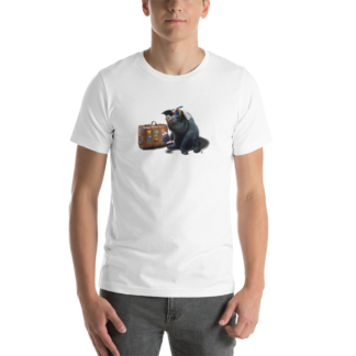 Might (Animal Illustration) Short-Sleeve Unisex T-Shirt