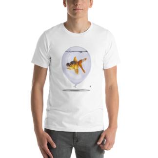 Inflated (Animal Illustration) Short-Sleeve Unisex T-Shirt