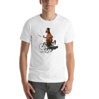 Horse Power (Animal Illustration) Short-Sleeve Unisex T-Shirt