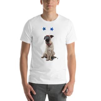 A Pug's Life (Animal Illustration) Short-Sleeve Unisex T-Shirt