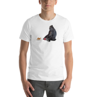 I Should, Koko (Animal Illustration) Short-Sleeve Unisex T-Shirt