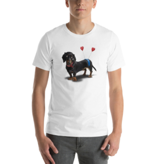 Butt (Animal Illustration) Short-Sleeve Unisex T-Shirt