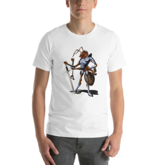 Soldiering On (Animal Illustration) Short-Sleeve Unisex T-Shirt