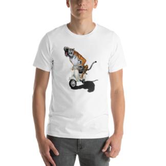 Rooooaaar! (Animal Illustration) Short-Sleeve Unisex T-Shirt
