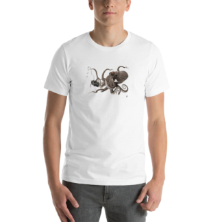 Count to Ten (Animal Illustration) Short-Sleeve Unisex T-Shirt