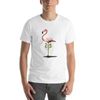 Planted (Animal Illustration) Short-Sleeve Unisex T-Shirt