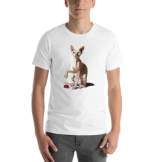 Cat-astrophe (Animal Illustration) Short-Sleeve Unisex T-Shirt