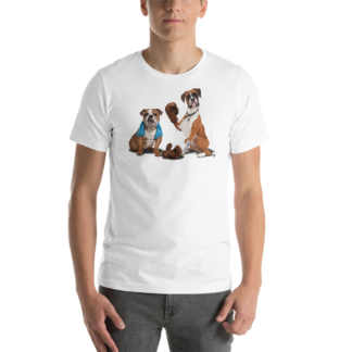 Raging (Animal Illustration) Short-Sleeve Unisex T-Shirt