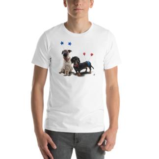 What's the Deely? (Animal Illustration) Short-Sleeve Unisex T-Shirt