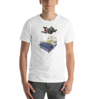 Break Time (Animal Illustration) Short-Sleeve Unisex T-Shirt