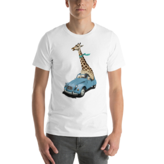 Riding High (Animal Illustration) Short-Sleeve Unisex T-Shirt