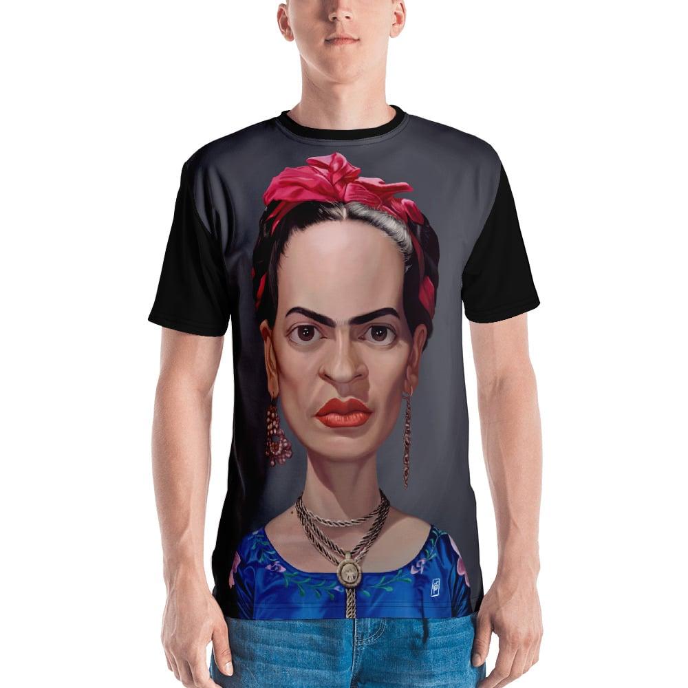 6584e4e9 Frida Kahlo (Celebrity Sunday) All-Over T-shirt | rob art | illustration