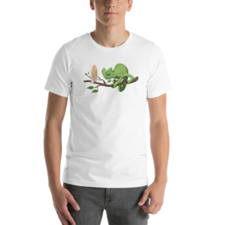 Can't See It Myself (Animal Illustration) Short-Sleeve Unisex T-Shirt