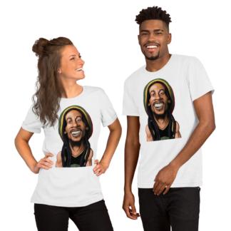 Bob Marley (Celebrity Sunday) Short-Sleeve Unisex T-Shirt