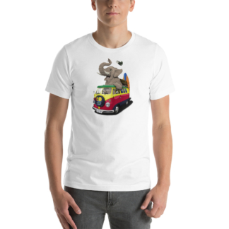 Pack the Trunk (Animal Illustration) Short-Sleeve Unisex T-Shirt