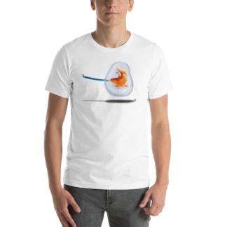 Popper (Animal Illustration) Short-Sleeve Unisex T-Shirt