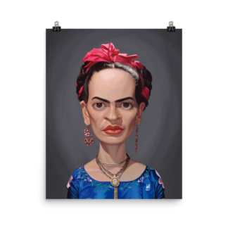 Frida Kahlo (Celebrity Sunday) Art print Poster