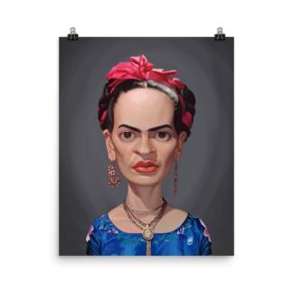 Frida Kahlo (Celebrity Sunday) Art print Poster