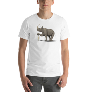 Cork it, Dürer! (Animal Illustration) Short-Sleeve Unisex T-Shirt