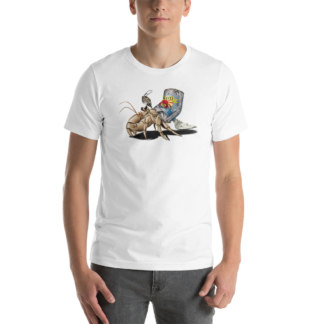 No Place Like Home (Animal Illustration) Short-Sleeve Unisex T-Shirt