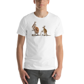 Being Tailed (Animal Illustration) Short-Sleeve Unisex T-Shirt