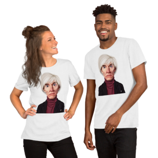 Andy Warhol (Celebrity Sunday) Short-Sleeve Unisex T-Shirt
