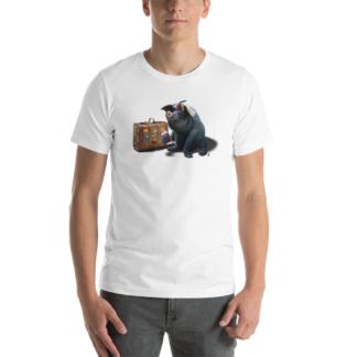 Might (Animal Illustration) Short-Sleeve Unisex T-Shirt