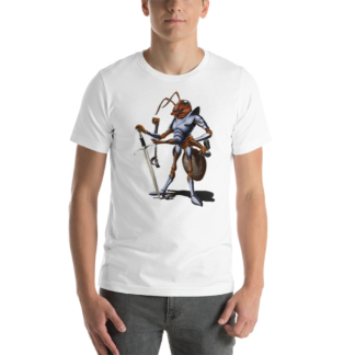 Soldiering On (Animal Illustration) Short-Sleeve Unisex T-Shirt