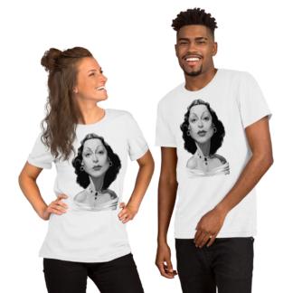 Hedy Lamarr (Celebrity Sunday) Short-Sleeve Unisex T-Shirt