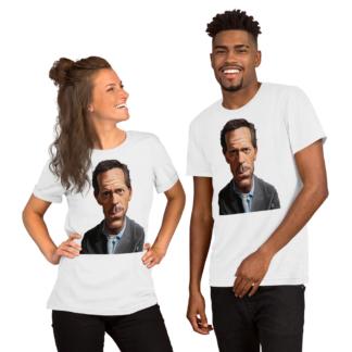 Hugh Laurie (Celebrity Sunday) Short-Sleeve Unisex T-Shirt