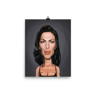Claudia Black (Celebrity Sunday) Art Print Poster