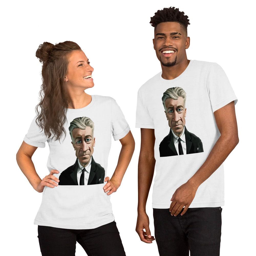 David Lynch Tee Men/'s Women/'s All Sizes Twin Peaks Art T-Shirt