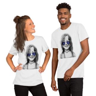 Janis Joplin (Steampunk) Short-Sleeve Unisex T-Shirt