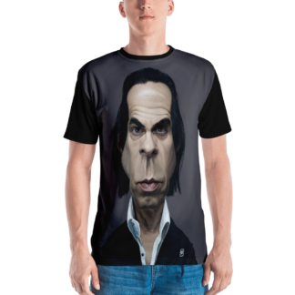 Nick Cave (Celebrity Sunday) All-Over T-shirt