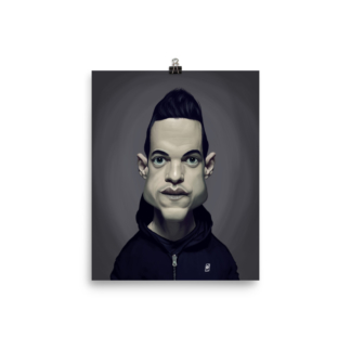 Rami Malek (Celebrity Sunday) Art Print Poster