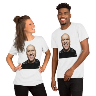 Michael Keaton (Celebrity Sunday) Short-Sleeve Unisex T-Shirt