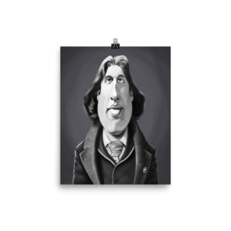 Oscar Wilde (Celebrity Sunday) Art Print Poster