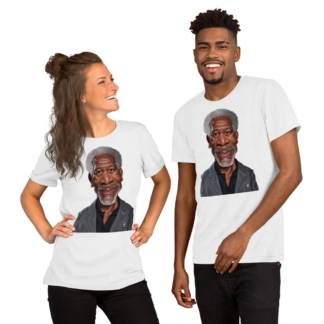 Morgan Freeman (Celebrity Sunday) Short-Sleeve Unisex T-Shirt