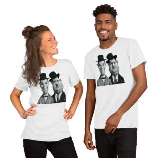 Laurel and Hardy (Celebrity Sunday) Short-Sleeve Unisex T-Shirt