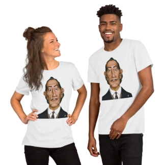Salvador Dali (Celebrity Sunday) Short-Sleeve Unisex T-Shirt